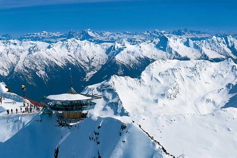 Rent or charter a helicopter for Obergurgl Ski Resort and other ...